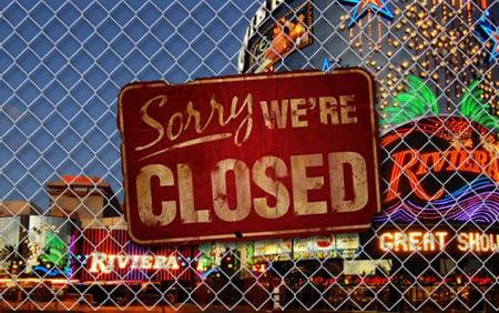 Les raisons de la fermeture d'un casino en ligne
