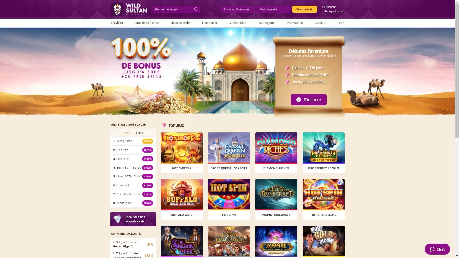wild sultan avis casino