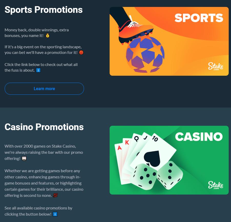 code bonus casino stake